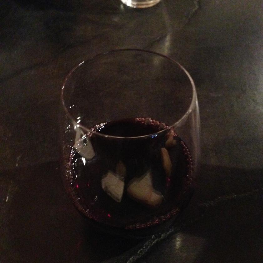 Cute Pour of Cabernet Sauvignon